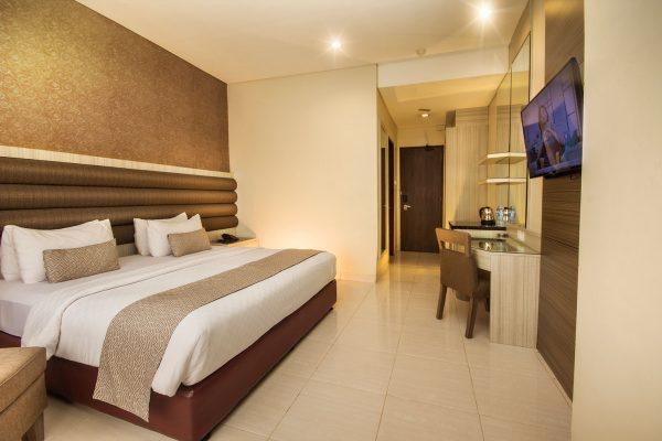 deluxe room double bed gren alia hotel