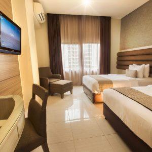 deluxe room twin bed gren alia hotel